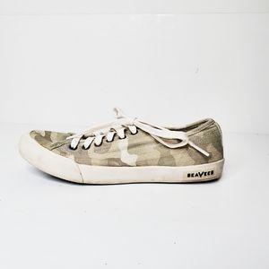 SeaVees Monterey Saltwash Stitchfix Camo Sneakers